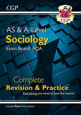 £7.99 • Buy New AS And A-Level Sociology: AQA Complete Revision & Practice (... By CGP Books