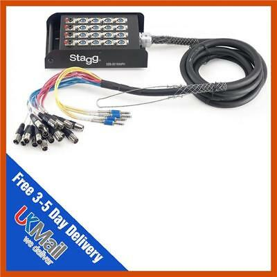 Stagg SSB-05/16X4PH 20 Way 16/4 5m XLR Multicore Stagebox Snake Jack Multicore • 140£