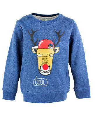 Bnwt Toddler/boys Ex M&s Rudolph Christmas Jumpers - Cool Xmas Jumper • 7.22£
