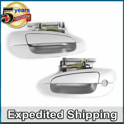 $39.45 • Buy Outside Door Handle KY1 Silver Front Pair DS269 For NISSAN ALTIMA
