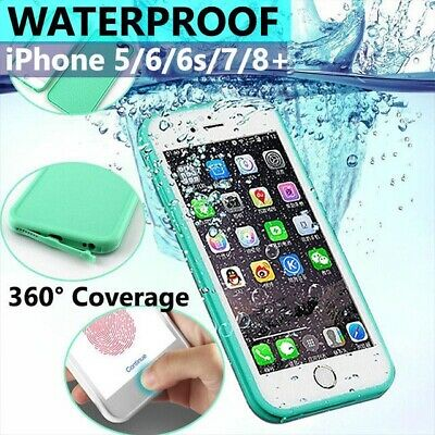 AU7.95 • Buy Waterproof Dirt/Shockproof Thin Tough Case Cover For IPhone 8 7 Plus 6S 5S SE