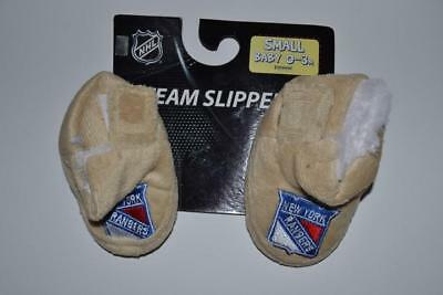 £8.71 • Buy Nhl Team Slippers New York Rangers Brown Slip On Shoes Baby Size 0 3 Months New