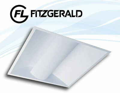 Fitzgerald Eclipse 600x600 Recessed Fluorescent Luminaire With 40W PL-L Lamp • 88.95£