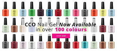CCO UV/LED Soak Off Nail Gel Polish Varnish. Over 100 Colours To Choose From! • 4.99£