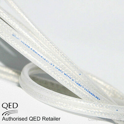 $ CDN11.23 • Buy QED Silver Anniversary XT Reference Speaker Cable Unterminated - Price Per Metre