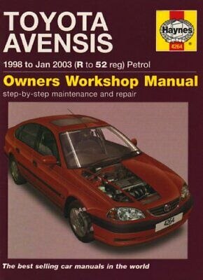 Toyota Avensis Petrol Service And Repair Manual: 19... By Mead, John S. Hardback • 6.59£