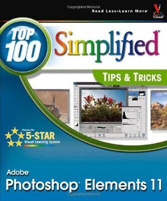 £3.22 • Buy Photoshop Elements 11 Top 100 Simplified Tips And
