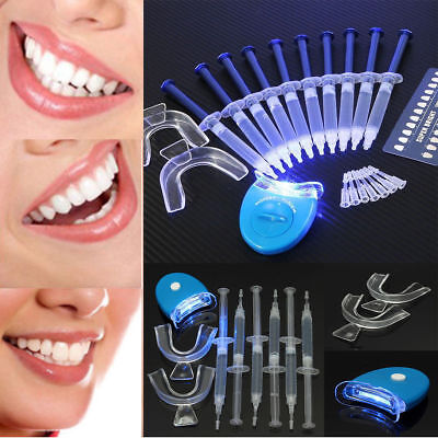 AU39.95 • Buy Professional Teeth Whitening Kit Uv Light Oral Bleaching Mouth Smile Tooth White