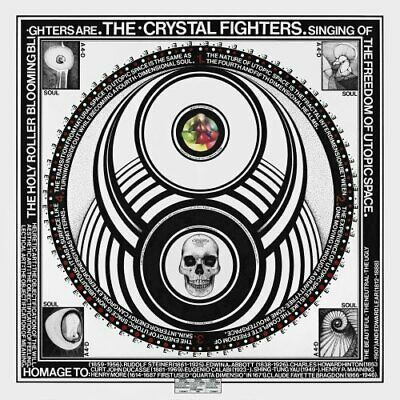 Crystal Fighters - Cave Rave - Crystal Fighters CD 3KVG The Cheap Fast Free Post • 3.49£