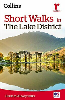 Short Walks In The Lake District (Collins Ramblers) By Collins Maps Book The • 5.99£