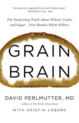 $4.49 • Buy Grain Brain: The Surprising Truth About Wheat, Car
