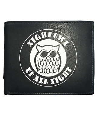 NIGHT OWL- UP ALL NIGHT Northern Soul  Leather Wallet • 14.95£