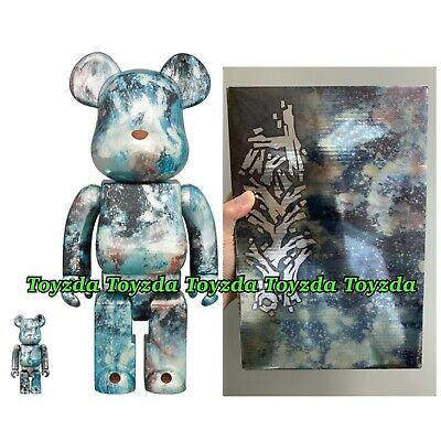 $217.99 • Buy Medicom Pushead #05 Sliver 400% + 100% Bearbrick Be@rbrick