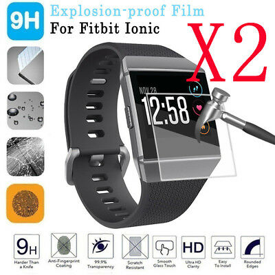 $ CDN2.79 • Buy 2x Clear Anti-scratch LCD TPU Full Cover Screen Protector Film For Fitbit Ionic