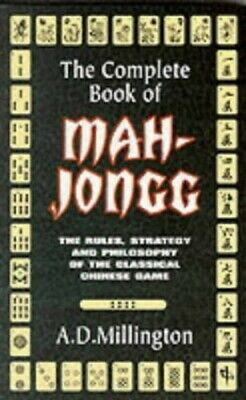 $19.46 • Buy Complete Book Of Mah Jongg By A.D. Millington Paperback Book The Fast Free