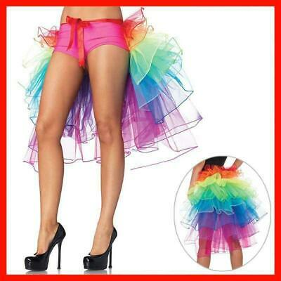 Women Layered Rainbow Dance Tulle Tutu Skirt For Clubwear Evening Party Carnival • 4.99£