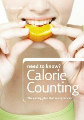 £14.59 • Buy Calorie Counting (Collins Need To Know?) By Santon, Kate Paperback Book The Fast