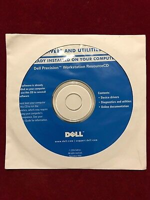 Dell Precision Workstation Resource CD - Drivers & Utilies • 2.99£