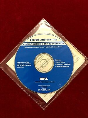Dell Precision M60 Mobile Workstation CD - Drivers & Utilies • 2.99£