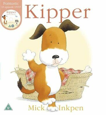 Kipper: Book And DVD By Inkpen, Mick 1444902733 The Fast Free Shipping • 5.62$