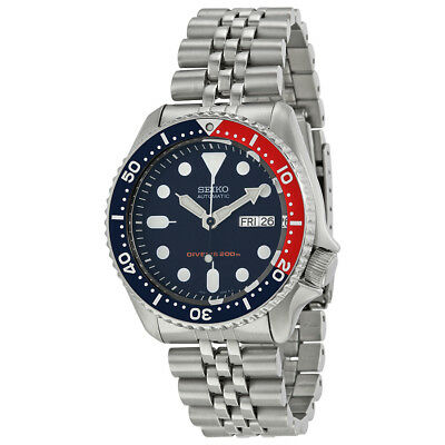 $ CDN587.75 • Buy Seiko SKX009 Automatic Pepsi Dial Stainless Steel 200m Diver Watch SKX009K2