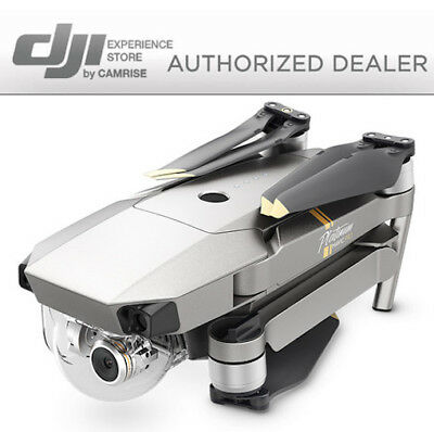 AU1225.78 • Buy DJI MAVIC PRO PLATINUM W/ 4K Stabilized Camera. FLY MORE COMBO