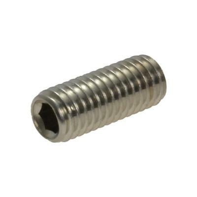 AU3.90 • Buy G304 Stainless Steel M6 (6mm) Metric Coarse Socket Set Screw Grub Allen