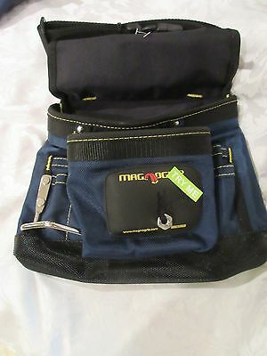 $19.99 • Buy MagnoGrip Magnetic Tool Pouch Small Tools/Nails Magnet Carpenter's Bag- BLUE NEW