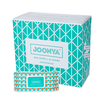 AU128 • Buy Joonya - Non-Toxic, Biodegradable Baby Wipes - 24 X 80 Wipes - Free Delivery