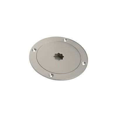 STAINLESS STEEL INSPECTION HATCH / MANHOLE COVER 140 Mm TOP QUALITY  INSPSS140 • 45.45£