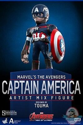 $ CDN60.12 • Buy Avengers Age Of Ultron Series 1 Captain America Artist Mix Hot Toys