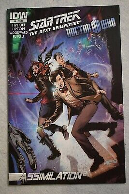 IDW Star Trek The Next Generation With Doctor Who #6 Emanuela Lupacchino Variant • 5.21£