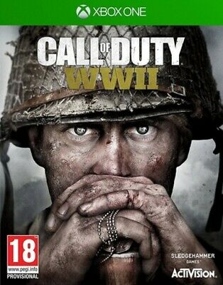 Call Of Duty: WWII (Xbox One) PEGI 18+ Shoot 'Em Up Expertly Refurbished Product • 11.36£