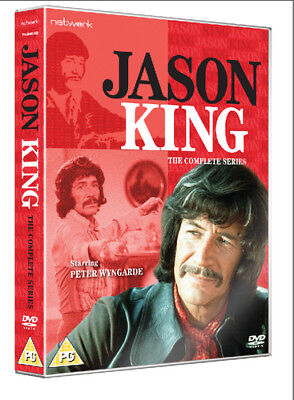 Jason King: The Complete Series DVD (2017) Peter Wyngarde, Dickson (DIR) Cert • 31.55£