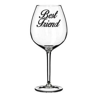 Best Friend Vinyl Decal Sticker 4, 8 Or 12 Ideal For Glitter Wine Glass  • 1.99£
