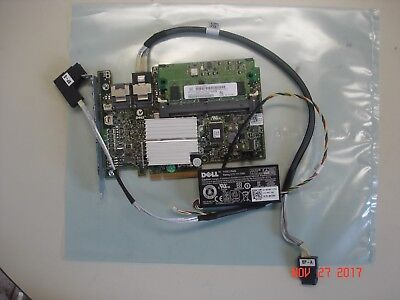 $45 • Buy Dell K883j  H700 6g Sas Raid Module & Cable, 512mb Cache, Nu209 Battery & Cable