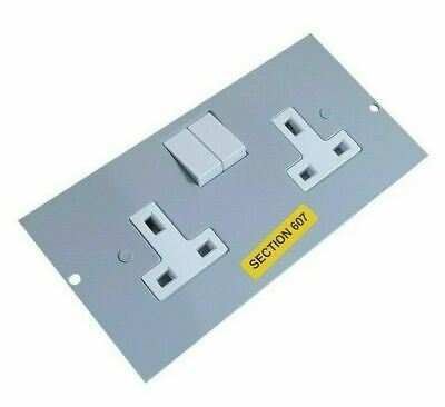 Marshall-Tufflex UP353 Series 507 Electrical Floor Box Socket Twin 13A Switched • 8.95£