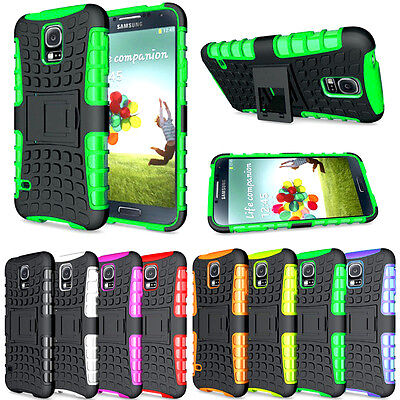 AU6.14 • Buy Heavy Duty Gorilla Shockproof Stand Case Cover Military Builder For Mobile Phone