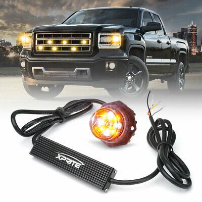 $33.99 • Buy Xprite Hide-A-Way LED Emergency Strobe Light For Headlight Internal Mounting-1PC