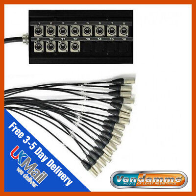 Van Damme 12 Sends 12 Way XLR Multicore Stagebox Stage Snake, 15m  • 490£