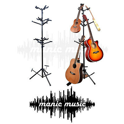 AU99.99 • Buy 9 Ukulele Guitar Stand Spiral Storage Rack Display Metal Foam Space Saver