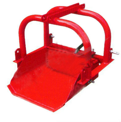 AU380 • Buy Scoop Bucket Dirt Loader Tractor 3 Point Linkage 24 Inch 609mm Reversible 3PL