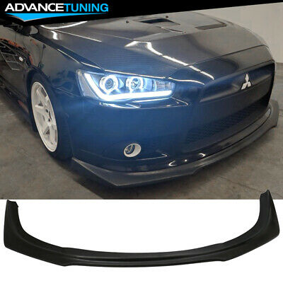 AU221.88 • Buy Fits 09-15 Mitsubishi Lancer RA Front Bumper Lip For Ralliart GT GTS Model Only