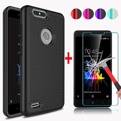 $10.95 • Buy For ZTE Blade Z Max Z982 Phone Case Cover / Tempered Glass Screen Protector Film