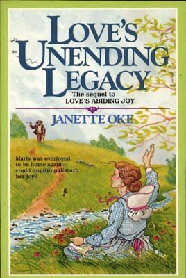 $4.49 • Buy B007GPJBTS Loves Unending Legacy : The Sequel To Loves Abiding Joy