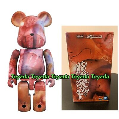 $302.88 • Buy Medicom 2018 Pushead 200% Marble Pattern Brian Schroeder Bearbrick Be@rbrick 1pc