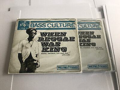 £44.99 • Buy Bass Culture - When Reggae Was King 2 CD RARE MINT UNSEALED UNPLAYED