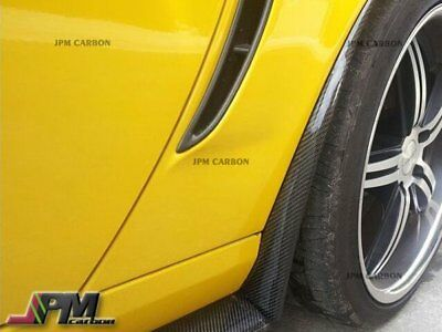$199.95 • Buy 2005-2013 Chevy Corvette C6 Z06 ZR1 CF Carbon Fiber Side Skirts Mud Flaps Lip