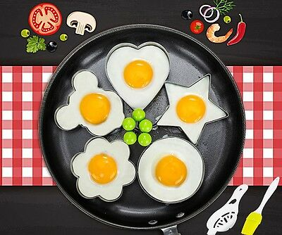$5.98 • Buy Cooking Kitchen Tools Stainless Steel Fried Egg Shaper Ring Pancake Mould Mold
