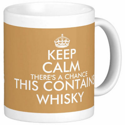 £6.99 • Buy KEEP CALM THERE'S A CHANCE THIS CONTAINS WHISKY MUG Personalised Whiskey Mugs